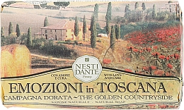 "Voňavky, Parfémy, kozmetika Mydlo ""Zlatá krajina"" - Nesti Dante Emozioni a Toscana Soap"