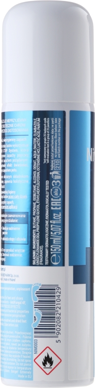 Multifunkčný deodorant pre nohy a topánky - Farmona Nivelazione Skin Therapy Expert — Obrázky N2