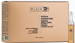 Voňavky, Parfémy, kozmetika Lotion proti vypadávaniu vlasov s panthenolom a placentou - Black Professional Line Panthenol & Placenta Lotion