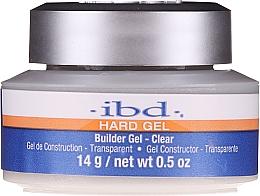 Voňavky, Parfémy, kozmetika IBD Clear Builder Gel - IBD Hard Gel Builder Gel Clear
