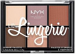 Voňavky, Parfémy, kozmetika Paleta tieňov na viečka - NYX Professional Makeup Lingerie Shadow Palette
