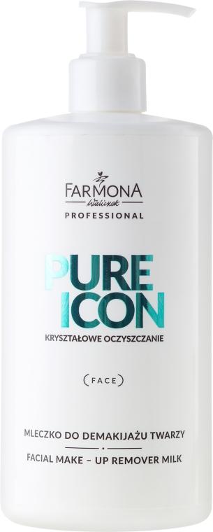 Mlieko na odstránenie make-upu - Farmona Krysztalowe Oczyszczanie