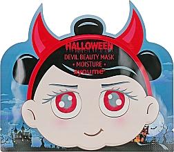 Voňavky, Parfémy, kozmetika Hydratačná maska s kyselinou hyalurónovou  - Ayoume Halloween Devil Beauty Mask Moisture