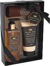 Voňavky, Parfémy, kozmetika Sada - Beeing True (sh/gel 250ml +sh/balm 180ml + uterák)