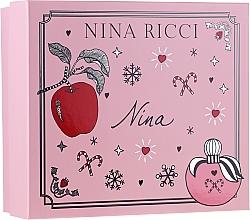 Voňavky, Parfémy, kozmetika Nina Ricci Nina - Sada (edt/50ml + lipstick/2.5g)