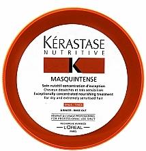 Voňavky, Parfémy, kozmetika Intenzívna maska pre suché a poškodené husté vlasy - Kerastase Masquintense Irisome Nutritive