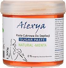 """Voňavky, Parfémy, kozmetika Shugaring pasta """"Mäta"""" - Alexya Sugar Paste Natural Menta"""
