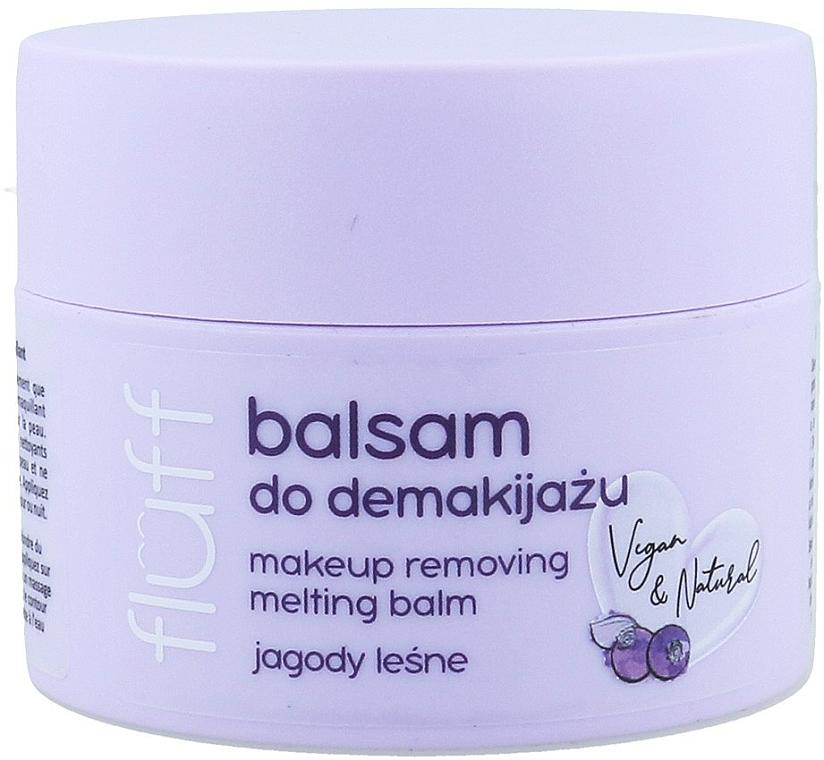 Odličovací balzam - Fluff Makeup Remover Balm Wild Blueberries