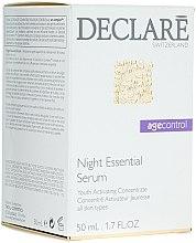 Voňavky, Parfémy, kozmetika Nočné regeneračné sérum s extraktom arktickým čučoriedok - Declare Age Control Night Repair Essential Serum