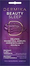 Voňavky, Parfémy, kozmetika Osviežujúca a upokojujúca gélová maska - Dermika Beauty Sleep