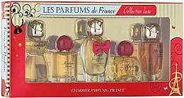 Voňavky, Parfémy, kozmetika Charrier Parfums Collection Luxe - Sada (edp/9.4ml+edp/9.3ml+edp/12ml+edp/8.5ml+edp/9.5ml)