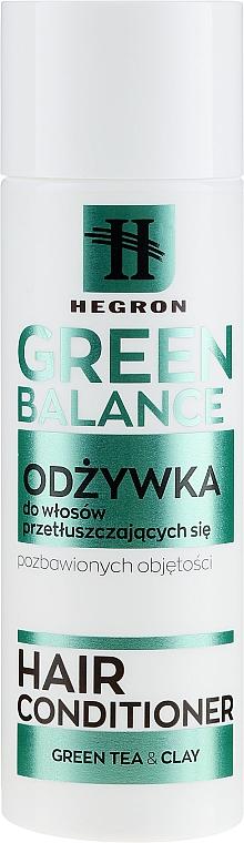 Kondicionér na mastné vlasy - Hegron Green Balance Hair Conditioner