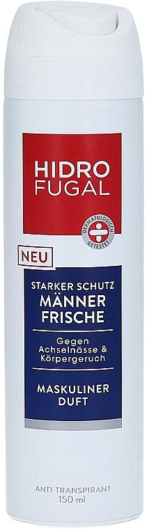 Aerosólový antiperspirant - Hidrofugal Men Fresh Spray