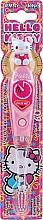 Voňavky, Parfémy, kozmetika Detská zubná kefka s časovačom - VitalCare Hello Kitty