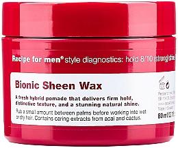 Voňavky, Parfémy, kozmetika Vosk pre lesk vlasov - Recipe for Men Bionic Sheen Wax
