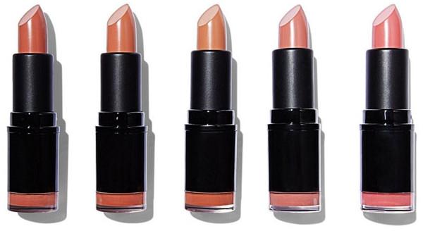 Sada z 5 rúžov na pery - Revolution Pro 5 Lipstick Collection Bare — Obrázky N2