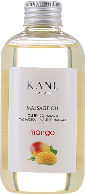 """Masážny olej """"Mango"""" - Kanu Nature Mango Massage Oil"""