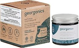 Voňavky, Parfémy, kozmetika Prírodná zubná pasta - Georganics English Peppermint Natural Toothpaste