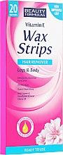 Voskové pásiky - Beauty Formulas Wax Strips Hair Remover Legs & Body — Obrázky N1