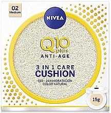 Voňavky, Parfémy, kozmetika Tónovací cushion - Nivea Q10 Plus Anti-Aging Radiance BB Cushion