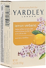 "Mydlo ""Citrón a Verbena"" - Yardley Lemon Verbena With Shea Butter Soap — Obrázky N1"