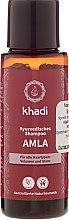 """Voňavky, Parfémy, kozmetika Ajurvédsky šampón """"Amla"""" - Khadi Amla Shampoo"""