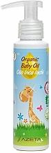 Voňavky, Parfémy, kozmetika Organický olej pre bábätká s Inca Inchi - Azeta Bio Organic Baby Oil Inca Inchi