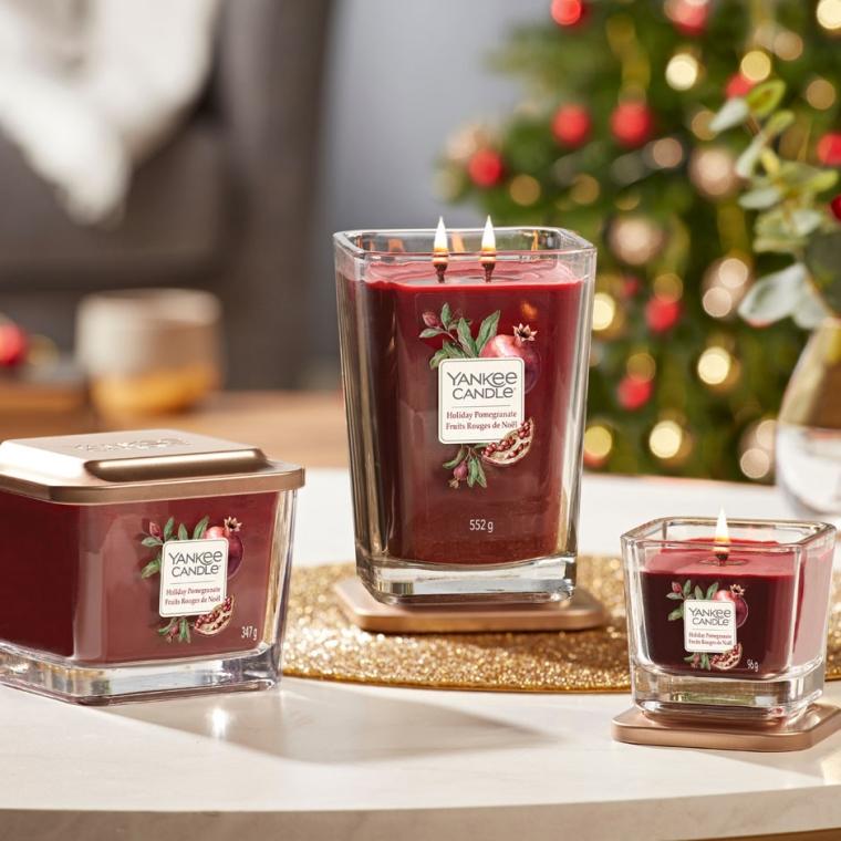 Aromatická sviečka - Yankee Candle Elevation Holiday Pomegranate — Obrázky N5