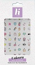 Voňavky, Parfémy, kozmetika Nálepky na nehty - Hi Hybrid Unicorn Nail Stickers