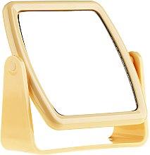 Voňavky, Parfémy, kozmetika Zrkadlo na stojane 85727, štvorcové, žlté - Top Choice Beauty Collection Mirror