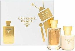 Voňavky, Parfémy, kozmetika Prada La Femme Prada - Sada (edp/50ml + b/lot/100ml)