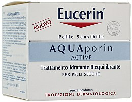 Voňavky, Parfémy, kozmetika Krém na tvár - Eucerin AquaPorin Active Deep Long-lasting Hydration For Dry Skin