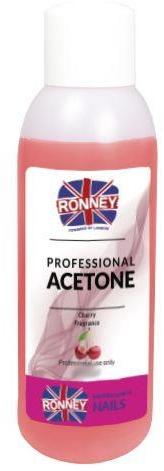 """Prostriedok na odstránenie laka """"Víšňa"""" - Ronney Professional Acetone Cherry"""