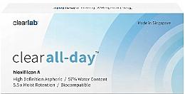 Voňavky, Parfémy, kozmetika Kontaktné šošovky, 3 ks - Clearlab Clear All-day
