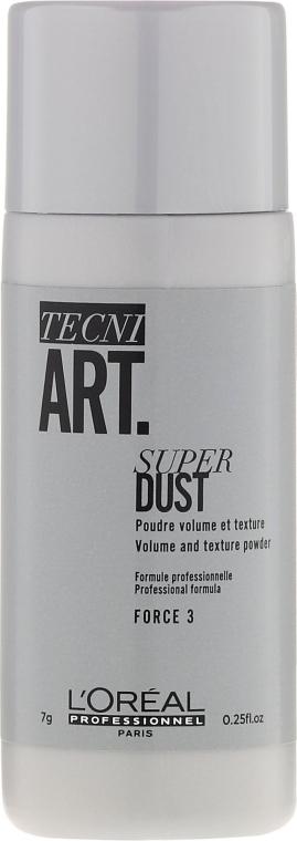 Púder na vytvorenie koreňového objem a fixácie - L'Oreal Professionnel Tecni.Art Super Dust Force 3