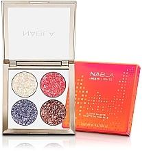 Voňavky, Parfémy, kozmetika Paleta očných tieňov - Nabla Miami Lights Collection Glitter Palette