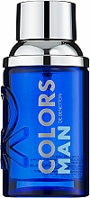 Voňavky, Parfémy, kozmetika Benetton Colors Man Blue - Toaletná voda