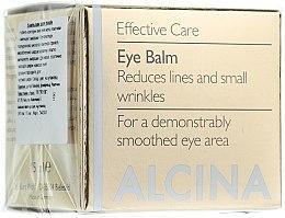 Voňavky, Parfémy, kozmetika Anti-age balzam na očí - Alcina E Eye Balm