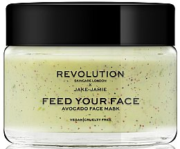 Voňavky, Parfémy, kozmetika Maska na tvár s peelingovým účinkom - Revolution Skincare Avocado Face Mask