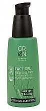 Voňavky, Parfémy, kozmetika Gél na tvár - GRN Essential Elements Aloe Vera & Hemp Face Gel