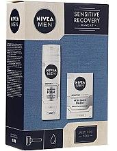 Voňavky, Parfémy, kozmetika Sada - Nivea Men Sensitive Recovery Shave Kit (sh/foam/200ml+ash/balm/100ml)