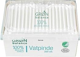 Voňavky, Parfémy, kozmetika Vatové tyčinky pre deti, 200 ks - Gron Balance