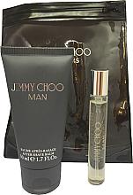 Voňavky, Parfémy, kozmetika Jimmy Choo Man - Sada (edt/mini/7.5ml + afsh/balm/50ml)