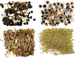 Voňavky, Parfémy, kozmetika Sada zlatých trblietok - Peggy Sage Nail Glitter Mini Kit Or