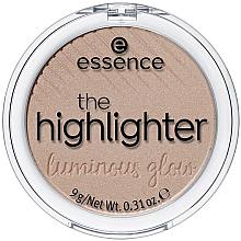 Voňavky, Parfémy, kozmetika Rozjasňovač na tvár - Essence The Highlighter Lumirous Glow