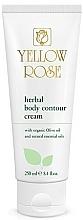 Voňavky, Parfémy, kozmetika Bylinkový krém na telo - Yellow Rose Herbal Body Contour Cream