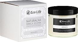 """Voňavky, Parfémy, kozmetika Vonná sviečka """"Kokosový orech"""" - Eco Life Candles"""
