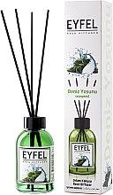 """Voňavky, Parfémy, kozmetika Aromatický difúzor """"Morské riasy"""" - Eyfel Perfume Reed Diffuser Seaweed"""