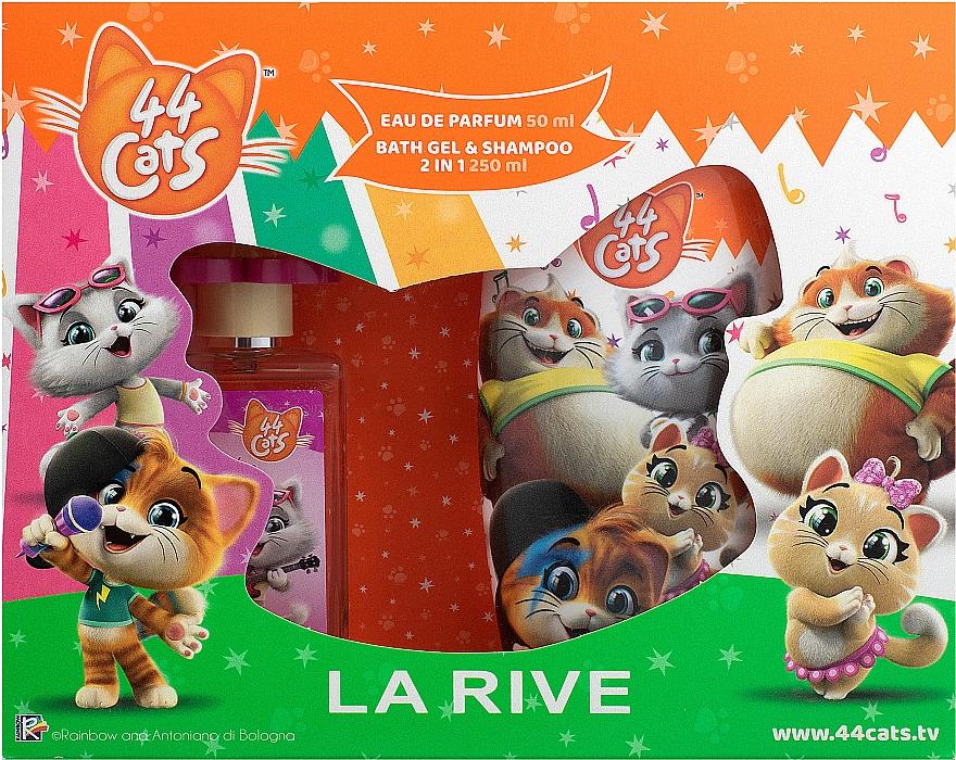 La Rive 44 Cats - Sada (edp/50ml + gel/sh/250ml)