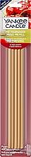 Voňavky, Parfémy, kozmetika Vonné tyčinky - Yankee Candle Black Cherry Pre-Fragranced Reed Refill
